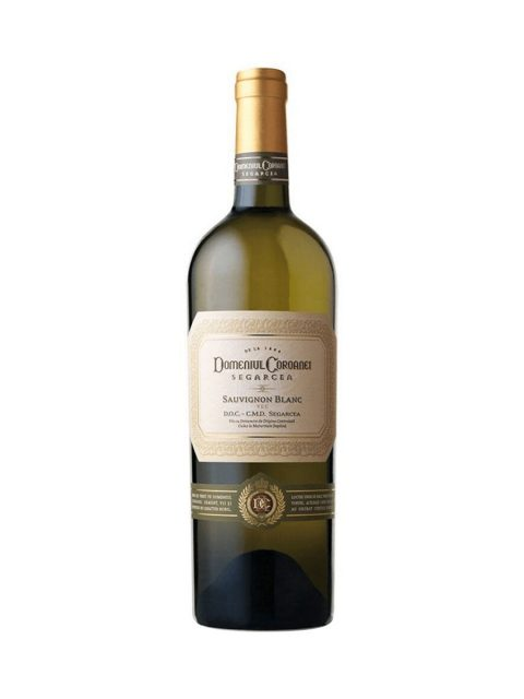 Vin Alb Sec Domeniul Coroanei Segarcea Prestige Sauvignon Blanc, 75 cl
