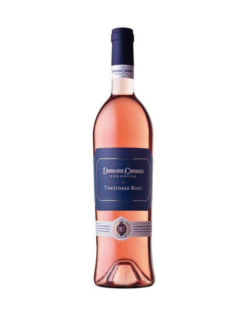 Vin Rose Demidulce Domeniul Coroanei Segarcea Prestige Tamaioasa Roza, 75 cl