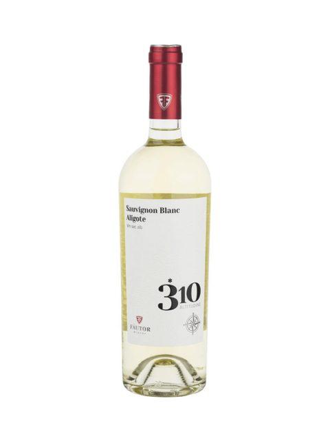Vin Alb Sec Fautor 310 Altitudine Sauvignon Blanc & Aligote, 75 cl
