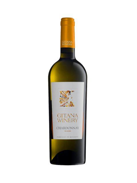 Vin Alb Sec Gitana Reserva Chardonnay, 75 cl