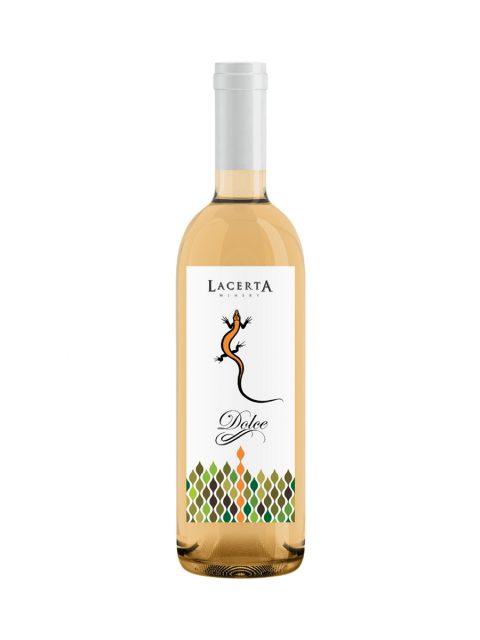 Vin Alb Dulce Lacerta Dolce, 375 ml