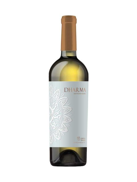 Vin Alb Sec Lebada Neagra Dharma Sauvignon Blanc, 75 cl