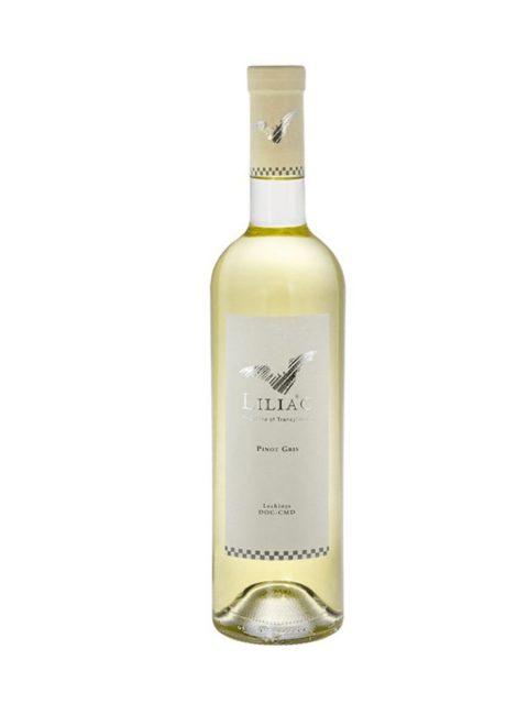 Vin Alb Sec Liliac Pinot Gris, 75 cl