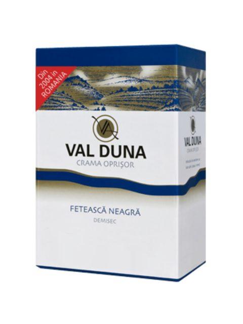 Vin Rosu Demisec Oprisor Val Duna Feteasca Neagra BIB, 3 l