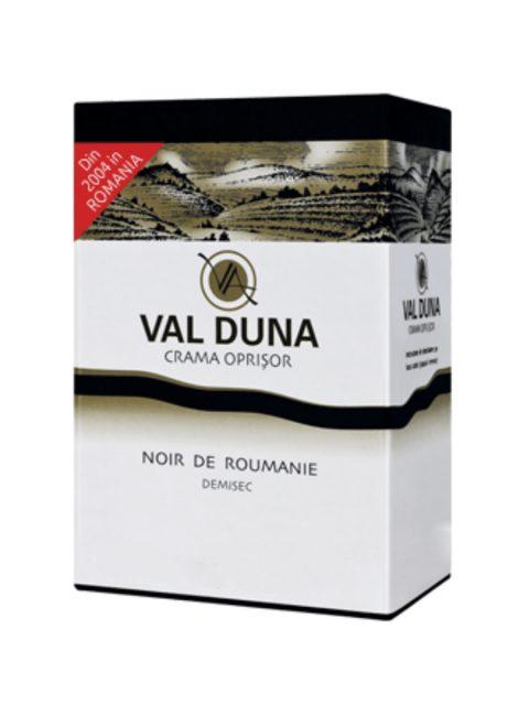 Vin Rose Demisec Oprisor Val Duna Noir de Roumanie BIB, 3 l