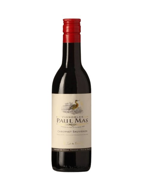 Vin Rosu Sec Paul Mas Mini Cabernet Sauvignon, 187 ml