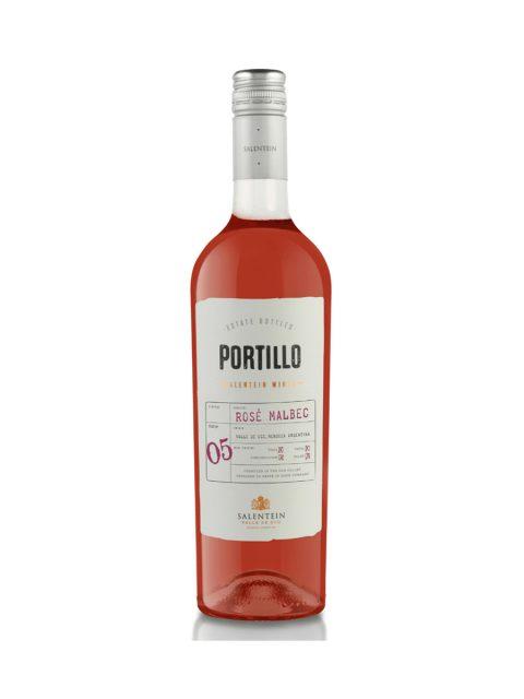 Vin Rose Sec Portillo Malbec, 75 cl