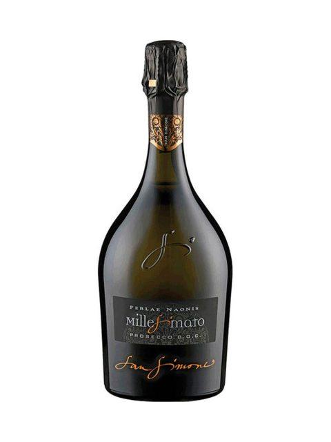 Vin Spumant Alb Brut Prosecco San Simone Perlae Naonis Millesimato, 75 cl