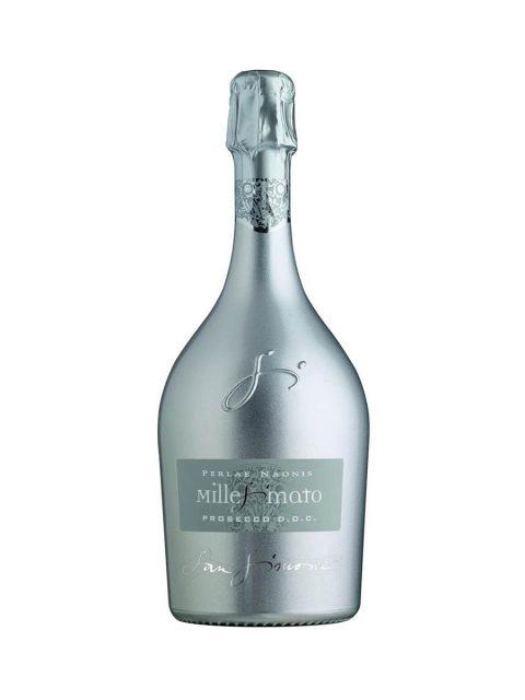 Vin Spumant Alb Brut Prosecco San Simone Perlae Naonis Silver, 75 cl
