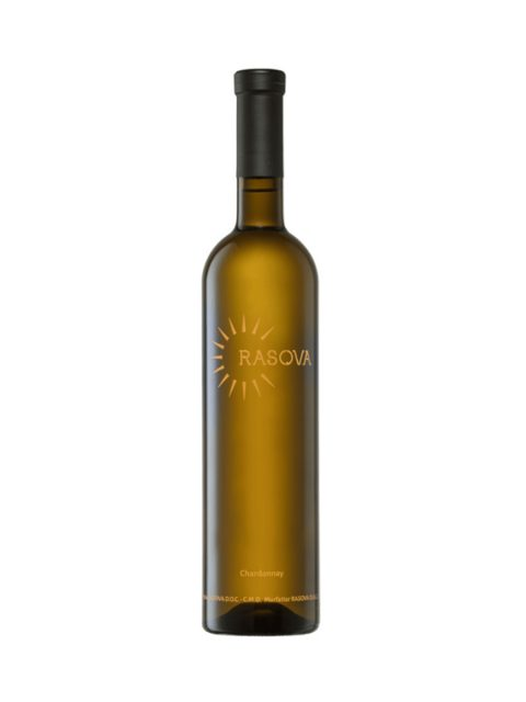 Vin Alb Sec Rasova Premium Chardonnay, 75 cl