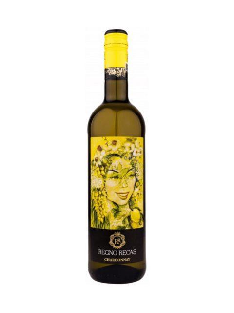 Vin Alb Sec Recas Regno Chardonnay, 75 cl