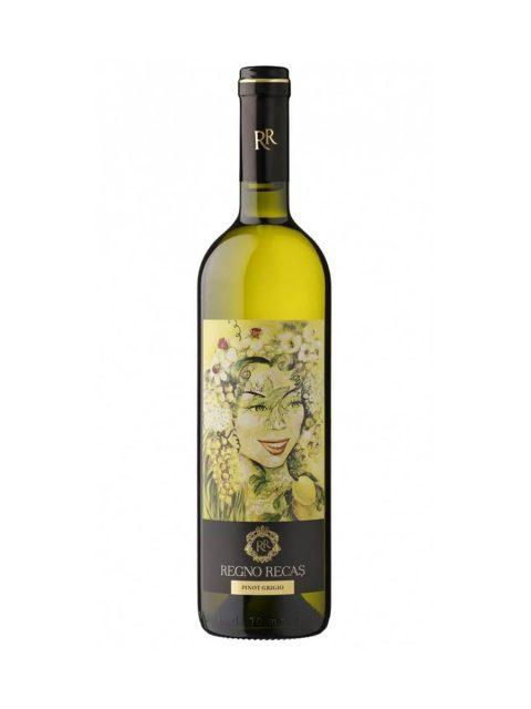 Vin Alb Sec Recas Regno Pinot Grigio, 75 cl