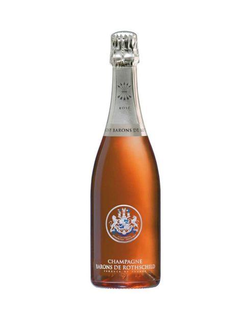 Vin Spumant Rose Brut Sampanie Barons de Rothschild, 75 cl