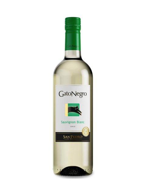 Vin Alb Sec San Pedro Gato Negro Sauvignon Blanc, 75 cl