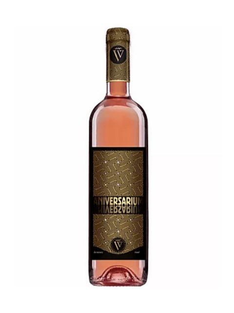 Vin Rose Demisec Sarica Niculitel Aniversarium, 75 cl