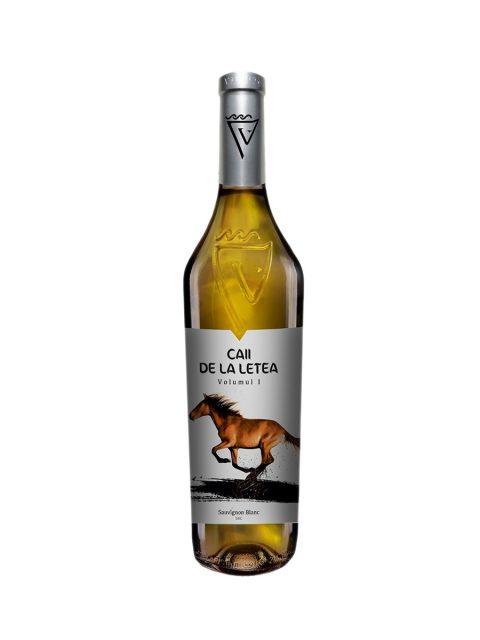 Vin Alb Sec Sarica Niculitel Caii De La Letea Sauvignon Blanc, 75 cl