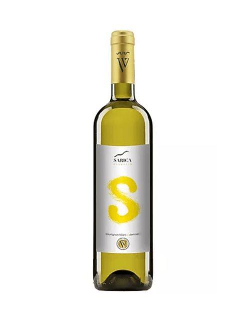 Vin Alb Demisec Sarica Niculitel Essentia Sauvignon Blanc, 75 cl