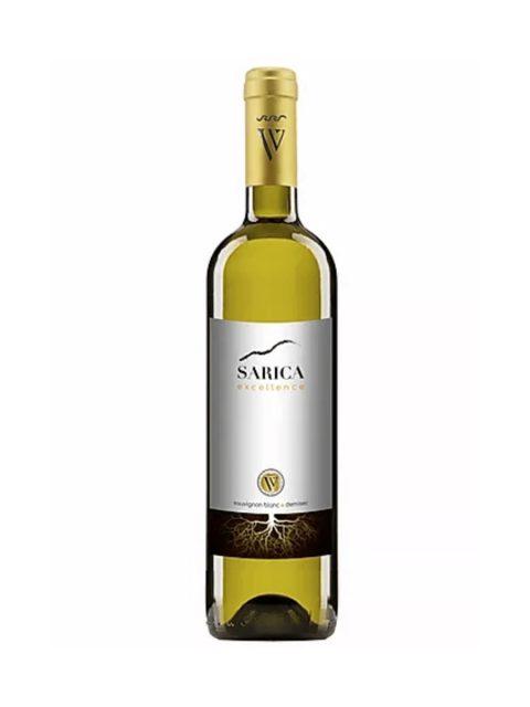 Vin Alb Demisec Sarica Niculitel Excellence Sauvignon Blanc, 75 cl