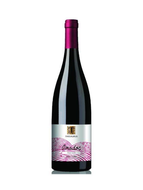 Vin Rosu Sec Thesaurus Amadoc Pinot Noir, 75 cl