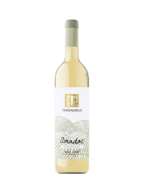 Vin Alb Sec Thesaurus Amadoc Sauvignon Blanc, 75 cl