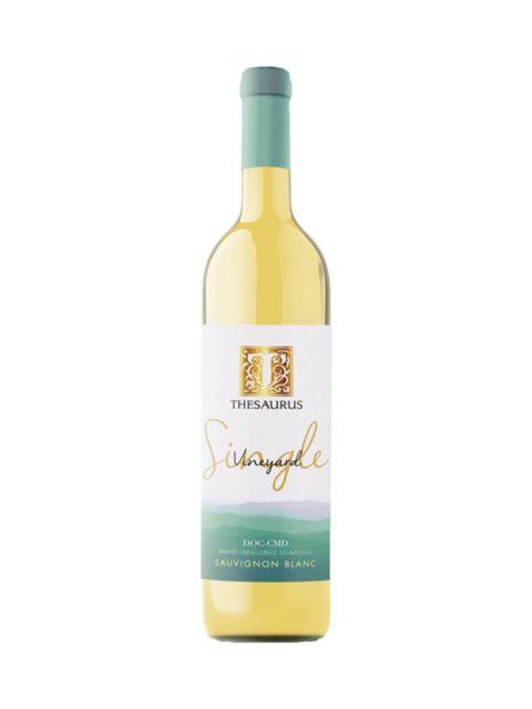 Vin Alb Sec Thesaurus Single Vineyard Sauvignon Blanc, 75 cl