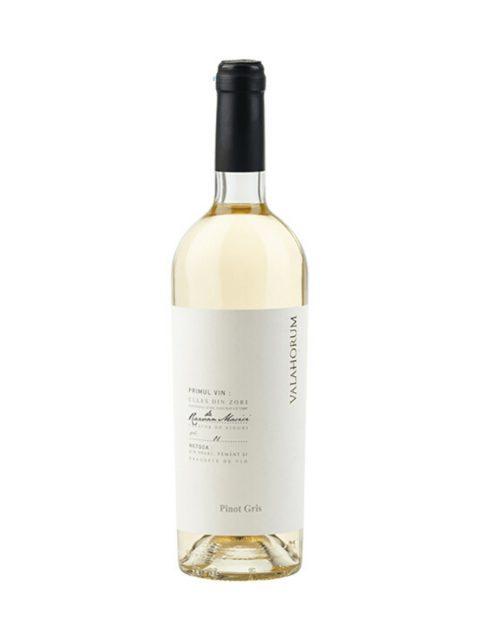 Vin Alb Sec Valahorum Pinot Gris, 75 cl