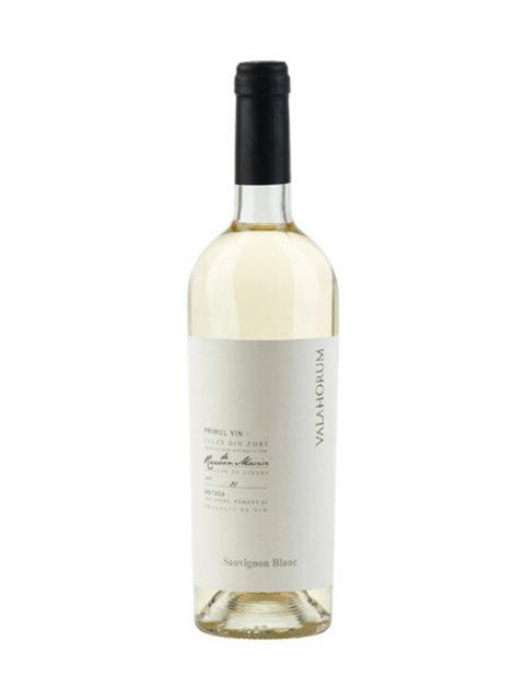 Vin Alb Sec Valahorum Sauvignon Blanc, 75 cl
