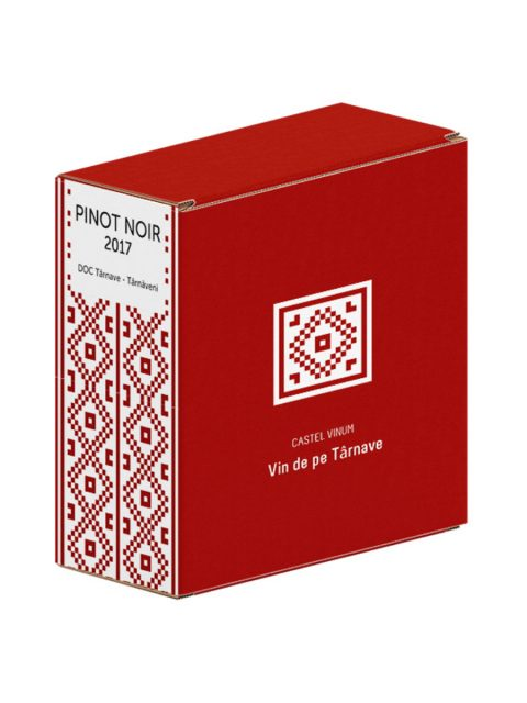 Vin Rosu Sec Villa Vinea Castel Vinum Pinot Noir BIB, 3 l