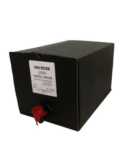 Vin Rose Demisec Villa Vinea Castel Vinum BIB, 5 l