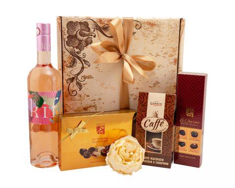 Pachet Cadou Superbe - Vin Rose, Du Kif, IGP Mediteraneene, Franta
