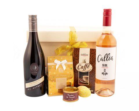 Pachet Cadou Easter Spirit - Vin Rose, Callia SR, Syrah Rose, Bodegas Callia, Argentina; Vin Rosu, Rouge Classique, Domaine Astruc, Franta
