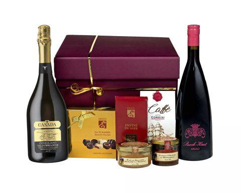 achet Cadou For a Special Moment - Vin Spumant Casada, Gran Cuvee, Blanc de Blancs, Vin Rosu Chateau Puech Haute, Argali, Rouge