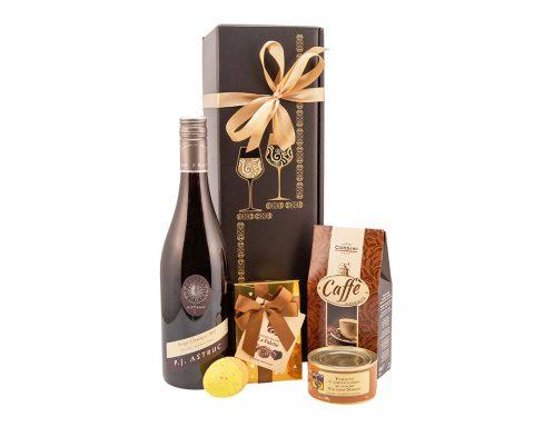 Pachet Cadou Golden Easter - Vin Rosu, Rouge Classique, Domaine Astruc, Franta
