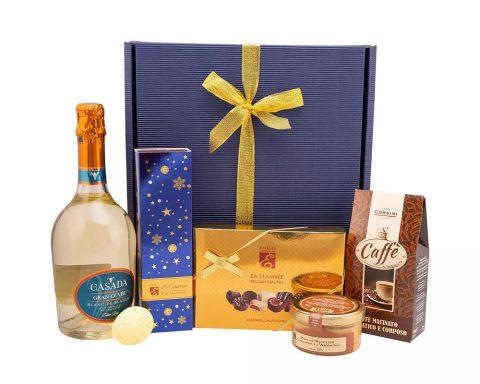 Pachet Cadou Pasquale - Vin Spumant, Millesimato, Casada, Gran Cuvee, Blanc de Blancs, Extra Dry, Italia