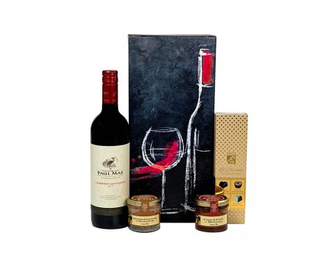 Pachet Cadou Saveurs - Vin Rosu Paul Mas, Vignobles, Cabernet Sauvignon